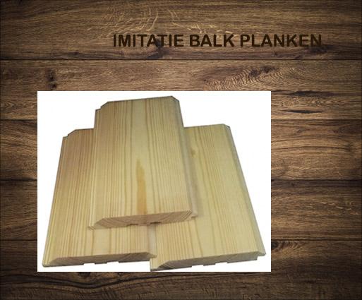 Imitatie balk planken