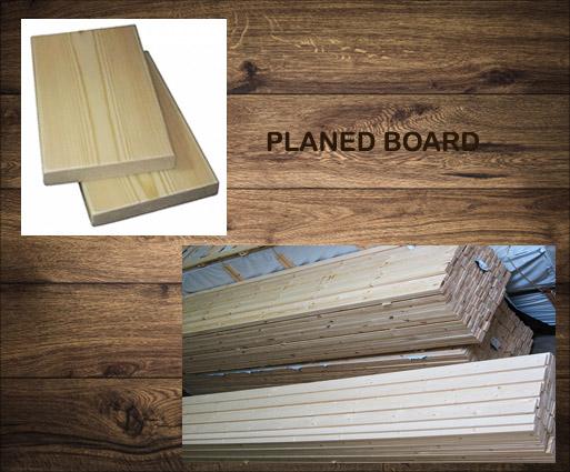 Planed board R3