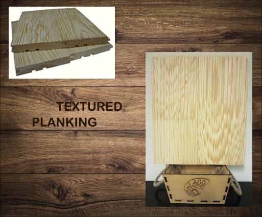 Textured planking