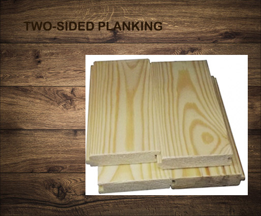 Two-sided planking