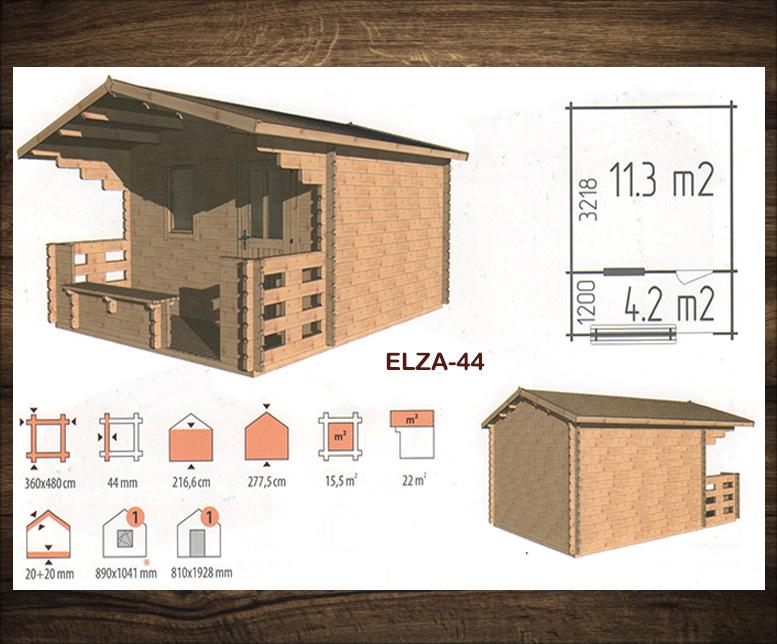 Blokhut Elza 44