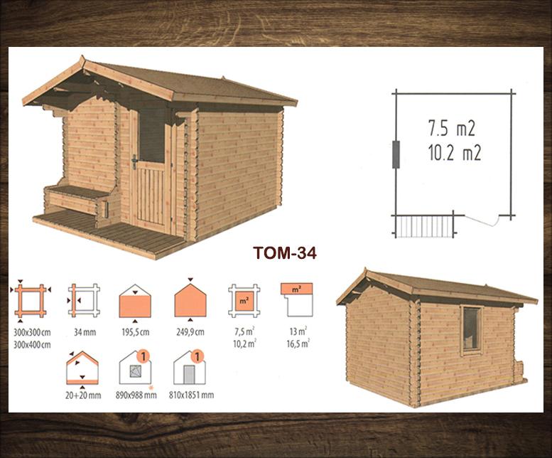 Blokhut Tom 34