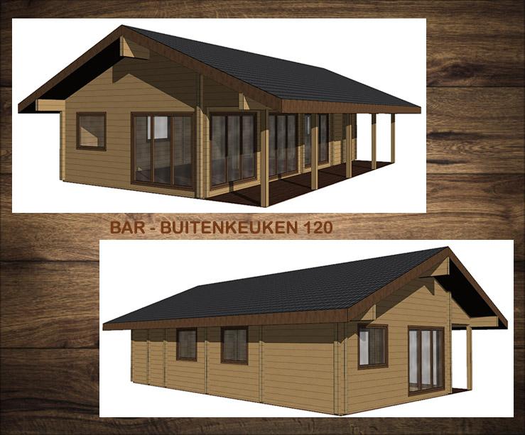 NIEUW Projekt.  Bar - Buitenkeuken 120