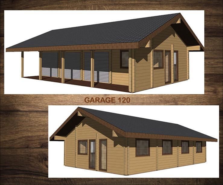 NIEUW Projekt.  Garage - 120